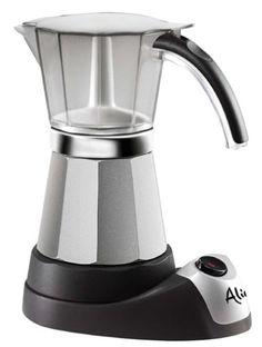 Delonghi EMK6 Alicia Electric Moka Espresso Coffee Maker - http://teacoffeestore.com/delonghi-emk6-alicia-electric-moka-espresso-coffee-maker-2/
