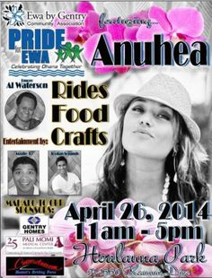 Ewa Beach, HI Featuring great entertainment, fun rides and games and fabulous food. Various organizations will host educational activities and exhibits. Favorite local eateries will be selling food and non-alco… Click flyer for more >>