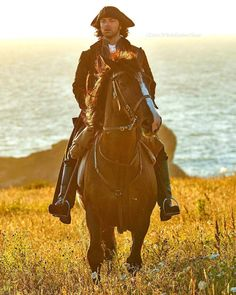 New game: every time Ross gallops across the beautiful Cornwall landscape or rides his horse anywhere, you must drink!