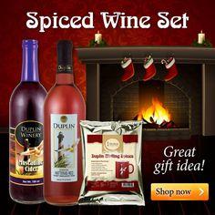 Duplin Winery Spiced Wine Set