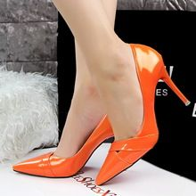 2015 New Sexy High Heels Shoes valentine pumps Pointed Toe Party Shoes Woman High Heel zapatos