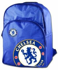 Chelsea FC Blue Rucksack by Chelsea. $20.78. This Official Chelsea FC crest rucksack is ideal for school, work or college. This rucksack is in a classic Chelsea blue and has the club crest printed on the front.
