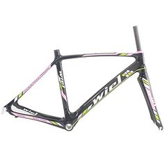 Wiel B076 Full Carbon Road Bike Frameset: Frame+fork+headset+seatpost Clamp - 3K Glossy Pink 490mm Wiel Cycling http://www.amazon.com/dp/B00FAPRY36/ref=cm_sw_r_pi_dp_mwGTvb0V7ZAR6