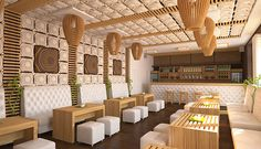 design project of a sushi bar