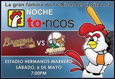 Acompáñanos en la #NocheToricos el próximo 6 de mayo en el Estadio Hermanos Marrero @ Aibonito. #pollostoricos  #megustaelpollo23ra Llegada de los Reyes Magos en #Aibonito.
