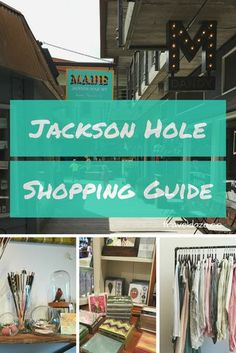 (Updated May A guide to the best places to shop in Jackson Hole, Wyoming. There are a lot of great local shops in Jackson & Teton Village to check out Wyoming Vacation, Yellowstone Vacation, Visit Yellowstone, Vacation Days, Family Vacations, Grand Teton National Park, Yellowstone National Park, National Parks, Spring Break Trips