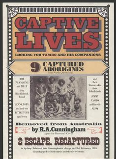 AIATSIS Library ‏@AIATSISLibrary do you know this story? Captive lives: looking for Tambo and his companions. 1883 https://www.facebook.com/AiatsisLibrary/photos/a.487869914591733.113687.485529081492483/589854754393248/?type=3&theater