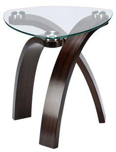 Magnussen Allure Walnut End Table
