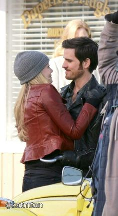 Jennifer Morrison and Colin O'Donoghue - Behind the scenes. 4 * 20 - 3rd March 2015