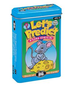 Take a look at this Let's Predict Flash Card Set today!