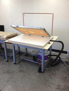 Kevin Haas - Accumulated Works - Blog - Screenprint Vacuum Table Mods