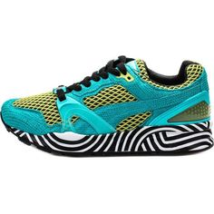 new product 22eea 7a4f3 Details about Puma Trinomic XT 2 Plus Swirls   359418 01 Blue Green Women  Sz 7. Michael Jordan ...