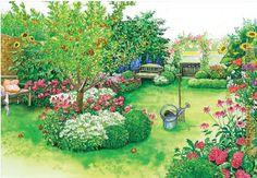 Rascvetana seoska bašta - Lisa - Sve što čini moj život!