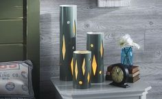 42 Amazing PVC DIY Ideas And Projects For Your Home and Garden --> PVC Table Lamp
