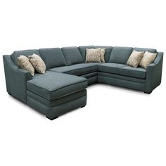 Thomas Sectional Sofa with Five Seats by England