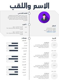 قوالب سيرة ذاتية 2019 Resume Templates Resume Cv Design