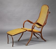 A Thonet bentwood armchair, type no. 1