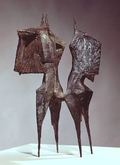Winged figures,Lynn Chadwick - Ruth Hogben reference image