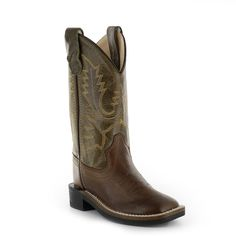 Old West Kid's Ultra Flex Western Boots
