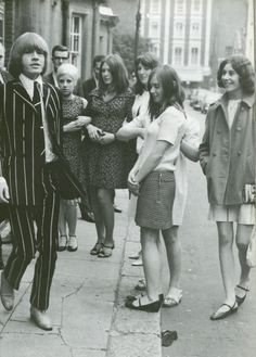 "1966 fashion  (Brian was the ""fashion plate"" of the group)"
