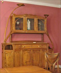 water lily buffet - Jugendstil (Art Nouveau) furniture--Hector Guimard ...