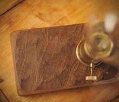 Small Edison lamp. Vintage lamp walnut wood by LuzDelBosque