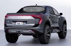 Tesla's All-Electric Pickup Truck – Concept – Awesome Stuff 365 Tesla Pickup Truck, Electric Pickup Truck, Electric Cars, Pickup Trucks, Lifted Trucks, Yanko Design, Pick Up, Maserati, New Tesla