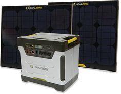 Goal Zero Yeti 1250 Solar Generator Kit at REI.com