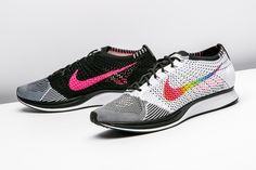 ed4d53de118 Nike outfits the Flyknit Racer with a rainbow Swoosh for this