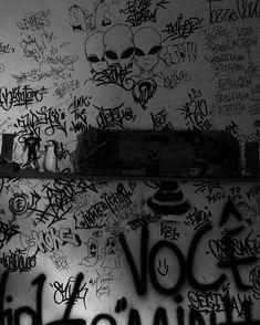 "@marypopit_ on Instagram: ""dope . . . . #street #dope #art #wall #streetphotography #vandalism"" Collage Mural, Collages, Black Aesthetic Wallpaper, Aesthetic Wallpapers, Graffiti Drawing, Dark Wallpaper, Street Art Graffiti, The Villain, Aesthetic Grunge"