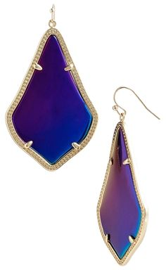 New! Kendra Scott 'Alexandra' Large Drop Earrings, Black Iredescent and Gold. Get the lowest price on New! Kendra Scott 'Alexandra' Large Drop Earrings, Black Iredescent and Gold and other fabulous designer clothing and accessories! Shop Tradesy now