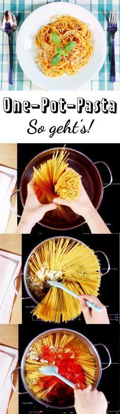 One Pot Pasta mit Hackfleisch und Paprika Pot pasta, Experimente