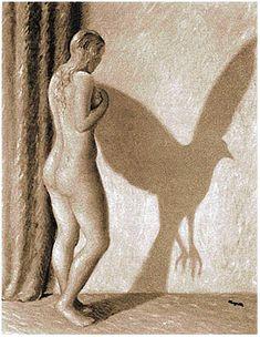 by Rene Magritte Rene Magritte, Conceptual Art, Surreal Art, Le Mal A Dit, Street Art, Illustration Art, Illustrations, Art History, Amazing Art
