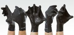 Rule the water with these Darkfin gloves. They're made out of one piece of durable latex rubber to provide comfort along with ultimate control. Aquaman Approved.