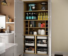 Feature Storage | Benchmarx Kitchens & Joinery