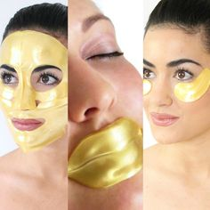 This #1 skin Illuminating and Age Fighting treatment. Includes our exclusive 24k Gold Full Facial Mask, 24k Gold Collagen Lip Mask and the 24k Gold Collagen Eye Mask Set.