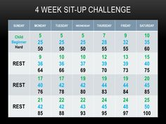 Sit up challenge - totally making B do this with me!