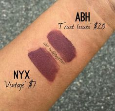 Anastacia Beverly Hills - Trust Issues Nyx - Vintage