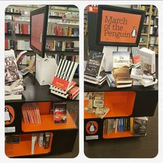 Pamela Power at Exclusive Books. A few of my faves at  RosebankMall March Of The Penguins, Dutch, Books, Libros, Dutch Language, Book, Book Illustrations, Libri