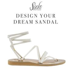 The possibilities are endless. Work with a Sseko Stylist to bring your sandal dreams to life! #customsandals #ssekostylist #dreamsandals #customfashion #dyds