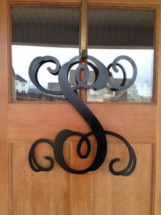 Outdoor Metal Monogram Letters Hey I Found This Really Awesome Etsy Listing At Httpswwwetsy