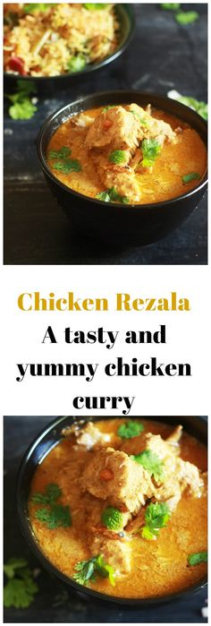 A tasty Chicken Rezala recipe made with poppy and cashew based curry from the origins of the Bengali Cuisine #chickenrezala #indianchickenrecipe #halalrecipe