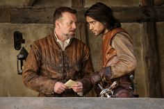 The Musketeers - D'Artagnan and Treville