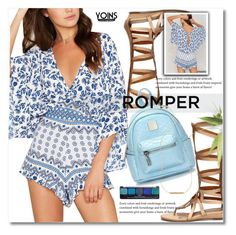 """Summer look: Romper"" by svijetlana ❤ liked on Polyvore featuring Wish by Amanda Rose and NYX"