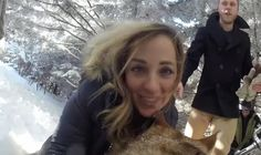 A couple made their dog their wedding Videographer, using a GoPro camera. The results are stunning!