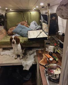 Suitcase drop down desk! Brilliant!