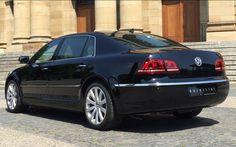 VW Phaeton hinten