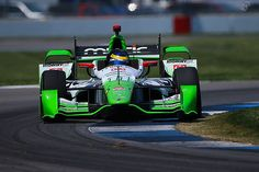 Sebastian Bourdais led the BowTie Brigade and turned the fastest lap of Thursday's opening practice period for Saturday's Angie's List Grand Prix of Indianapolis. RACER.com