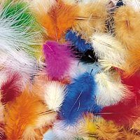 Maribou Feathers-14 Grams Feathers, Play, Wings, Feather, Fur