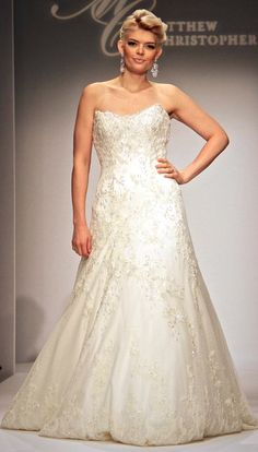 """The Reese Gown - Matthew Christopher """"Devotion Collection"""" - Wedding - Bride"""